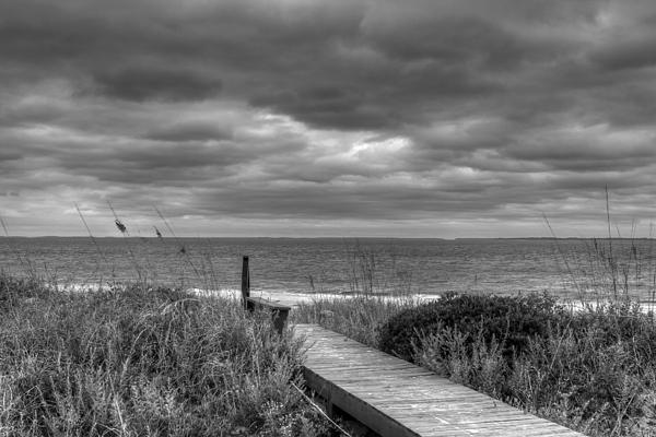 Hdr Photograph - Cloudy Day In Paradise by David Paul Murray