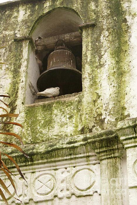 Guatemala Photograph - Coban Church Bell by John  Mitchell