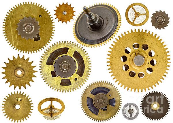 Cogwheel Photograph - Cogwheels - Gears by Michal Boubin