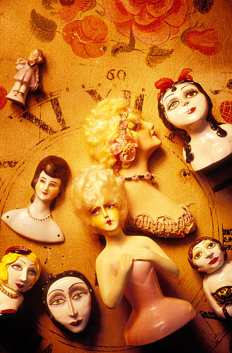 Doll Photograph - Collectable Dolls by Garry Gay