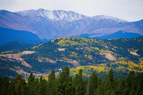 Autumn Photograph - Colorado Rocky Mountain Autumn View by James BO  Insogna