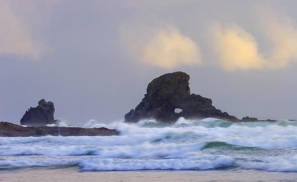 Arch Photograph - Consumed By The Sea by Mike  Dawson