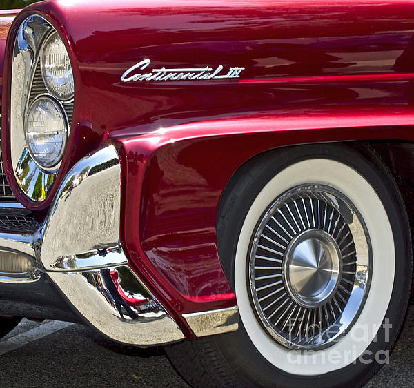 Lincoln Continental Photograph - Continental IIi by Gwyn Newcombe