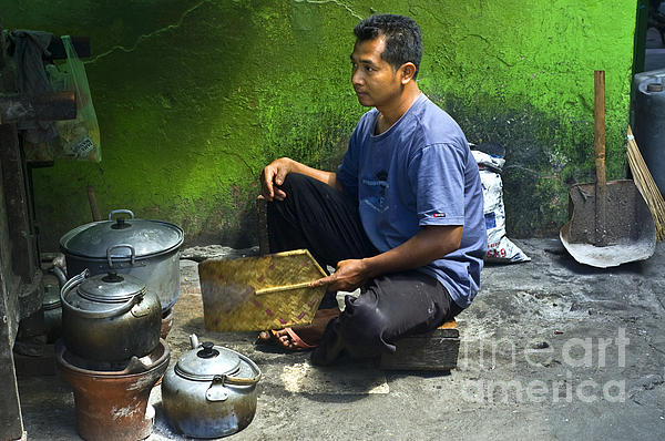 Cooking Photograph - Cooking by Charuhas Images