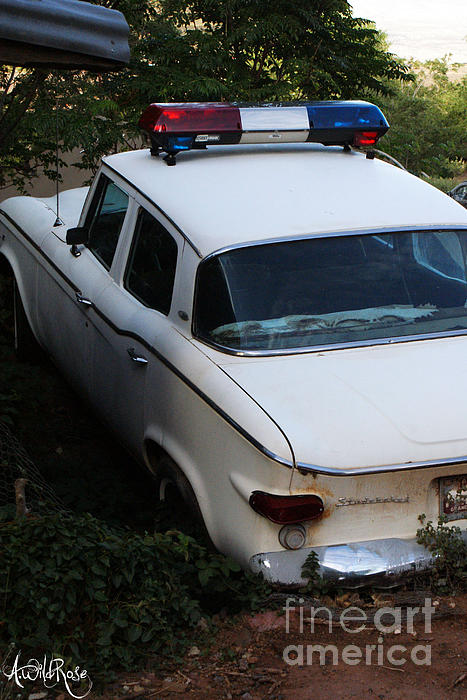 Old Cars Photograph - COP by Awildrose Photography