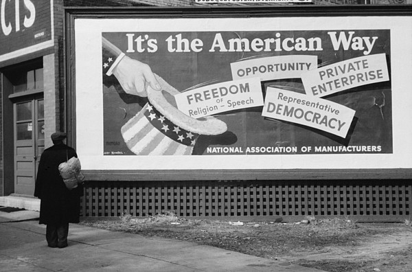 History Photograph - Corporate Resistance To Fdrs New Deal by Everett