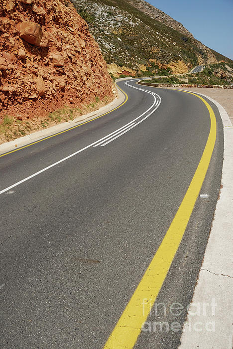Journey Photograph - Costal Road by Sami Sarkis