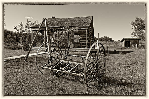 1800's Photograph - Country Classic Monochrome by Steve Harrington