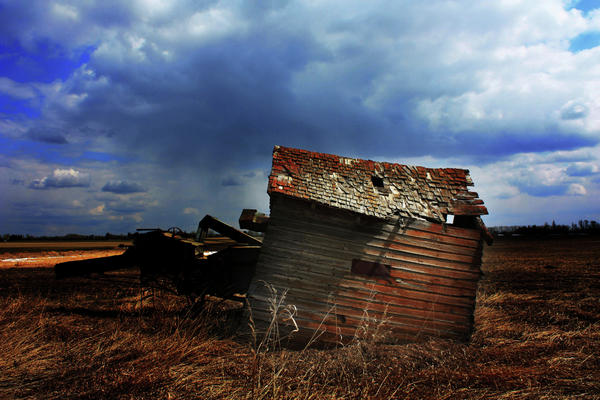 Rural Photograph - Crooked Breeze One by Empty Wall