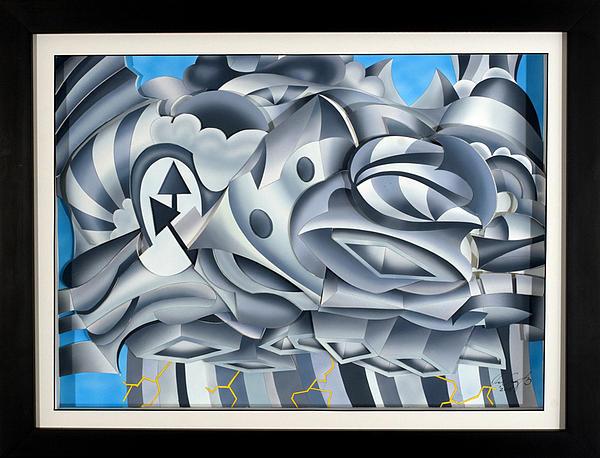 Abstract Relief - Cumulonimbus by Jason Amatangelo