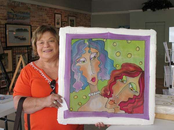 Commissioned Work Accepted Tapestry - Textile - Custom Work by Yvonne Feavearyear