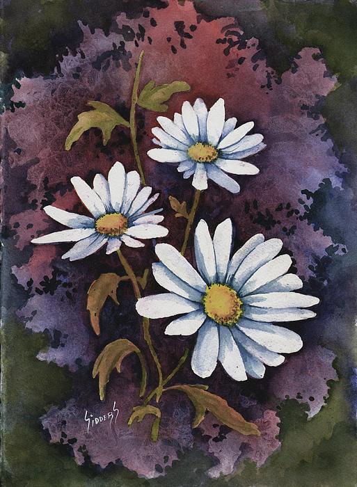 Flowers Painting - Daisies IIi by Sam Sidders