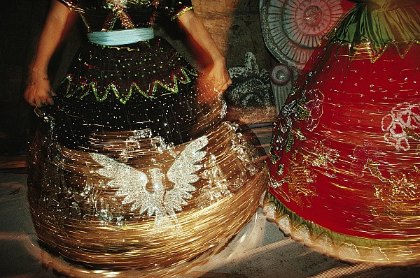 Acapulco Photograph - Dancers Whirl In Sequined Dresses by Sisse Brimberg