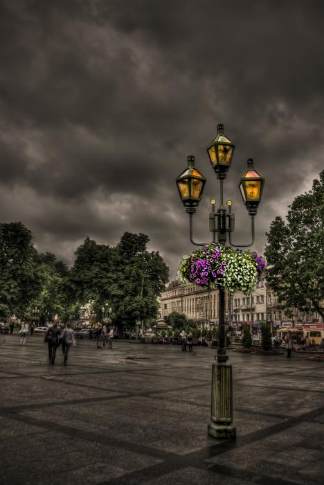 City Photograph - Days Of Thunder by Evelina Kremsdorf