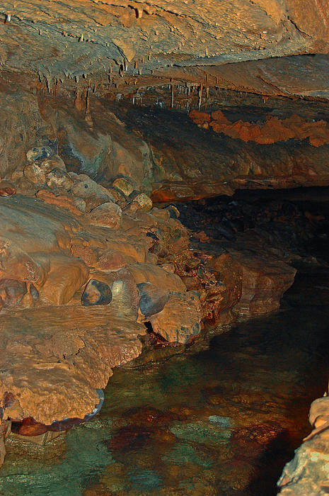 Caves Photograph - Deep Within The Earth by DigiArt Diaries by Vicky B Fuller