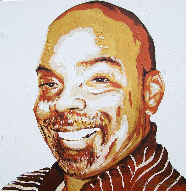 Dennis Haskin Painting by Reginald Charles Adams