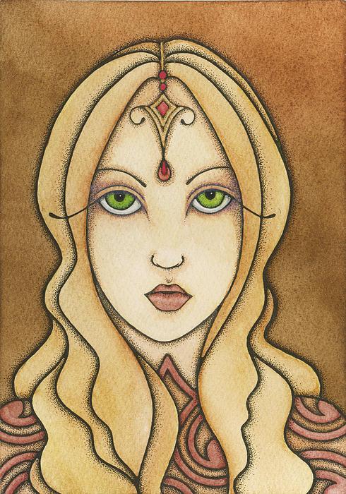 Destiny Painting - Destiny by Nora Blansett