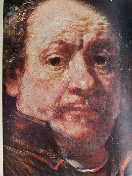 John Canaday Photograph - Detail From Portrait Of The Artist Rembrandt Canady Portfolio 9 by Jake Hartz