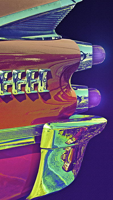 Dodge Photograph - Dodge Custom Royal by Gwyn Newcombe