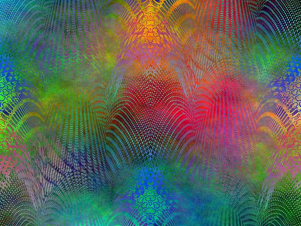 Fence Digital Art - Dont Fence Me In 2 by Tim Allen