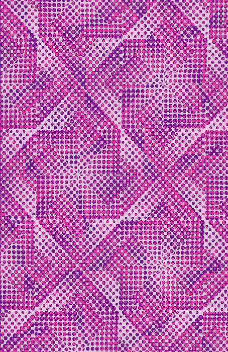 Dot Digital Art - Dotty by Louisa Knight