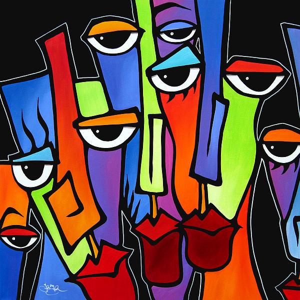 Fidostudio Painting - Downplayed by Tom Fedro - Fidostudio