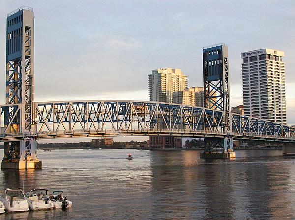 Jacksonville Photograph - Downtown Jacksonville by Tiffney Heaning