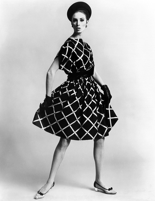 History Photograph - Dress By Pauline Trigere. Short by Everett