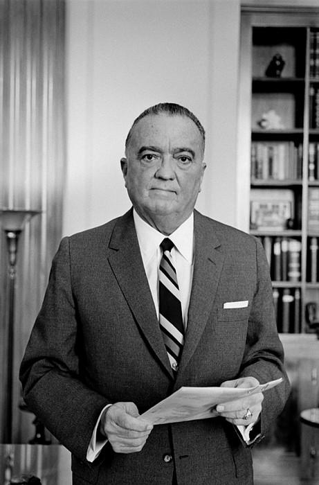 History Photograph - Edgar J. Hoover Director Of The Fbi by Everett