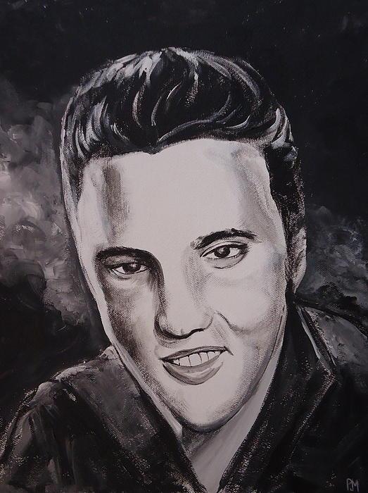 Elvis Presley Painting - Elvis by Pete Maier