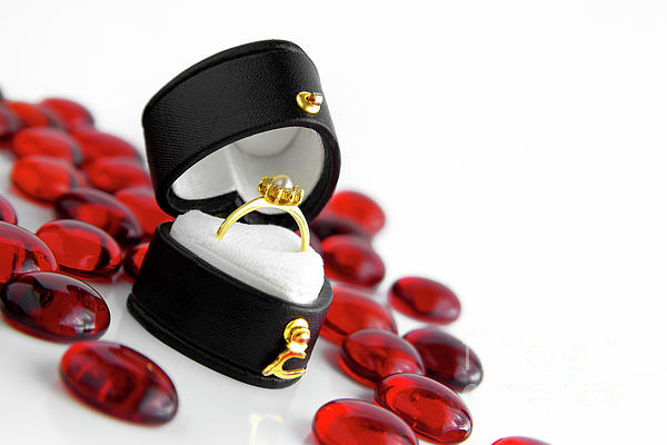 Beautiful Photograph - Engagement Ring by Carlos Caetano