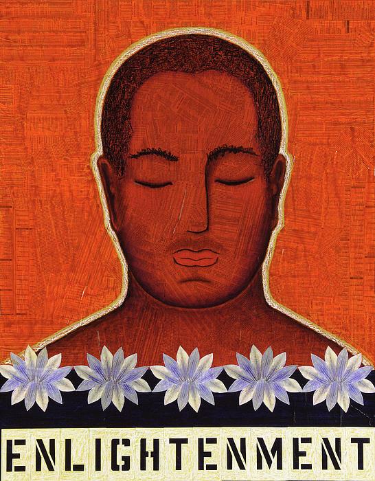 Buddha Mixed Media - Enlightenment by Gloria Rothrock