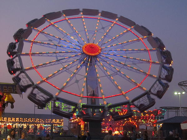 Seaside Heights Photograph - Enterprise by Michele Caporaso