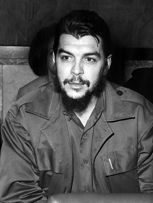 Ernesto Che Guevara Steps Off A Plane Photograph by Everett