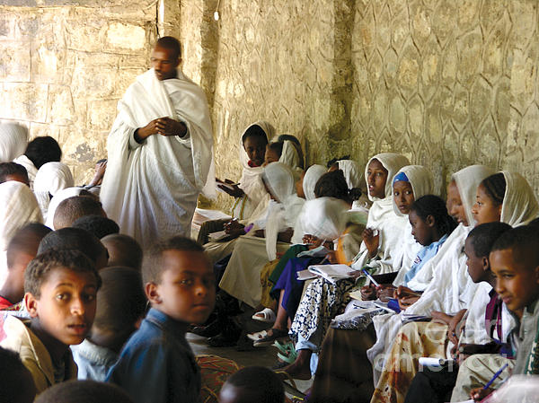 Bible Photograph - Ethiopian Orthodox Teachings by Cherie Richardson