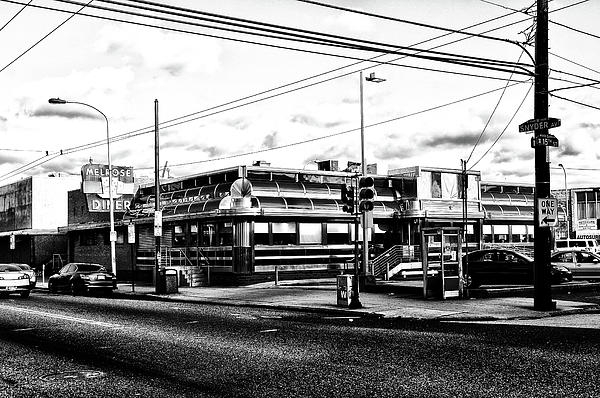 Melrose Photograph - Everybody Goes To Melrose - The Melrose Diner - Philadelphia by Bill Cannon