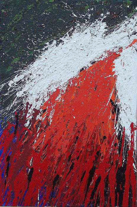 Bomb Mixed Media - Explosion 1 by Brian Rock
