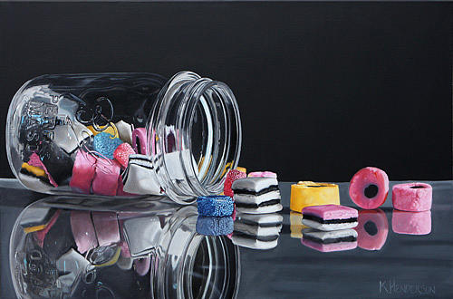 Art For Sale Painting - Eye Candy By K Henderson by K Henderson