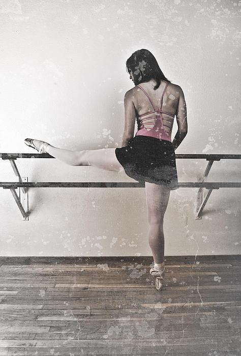 Ballet Photograph - Faded Ballerina by Scott Sawyer