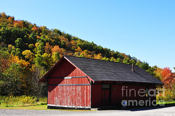 West Virginia Photograph - Fall Color Pickens West Virginia by Thomas R Fletcher
