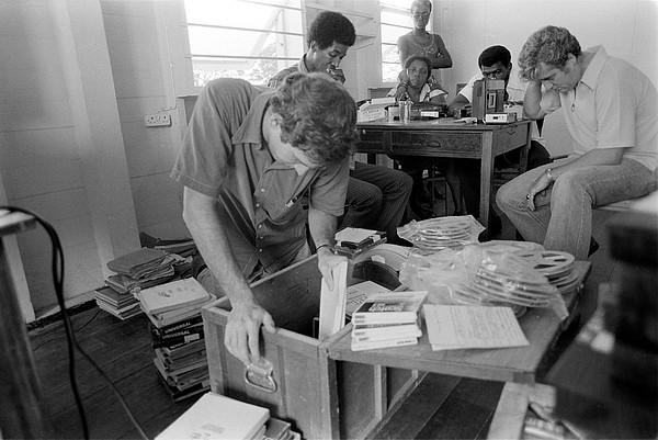 History Photograph - Fbi Agents In Jonestown, Going by Everett