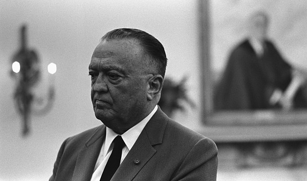 History Photograph - Fbi Director, J. Edgar Hoover, In An by Everett