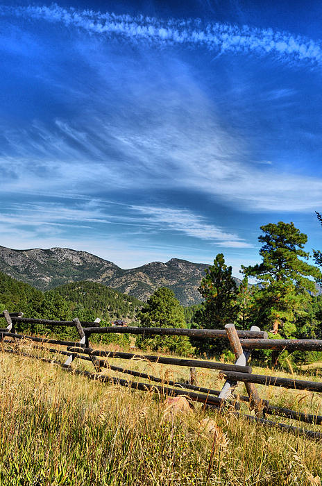 Colorado Photograph - Fenced by Emily Stauring