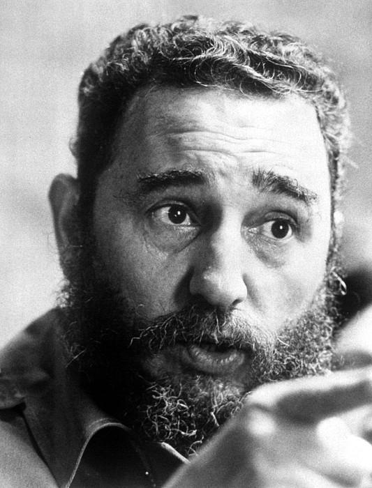 Beard Photograph - Fidel Castro, Circa 1977 by Everett
