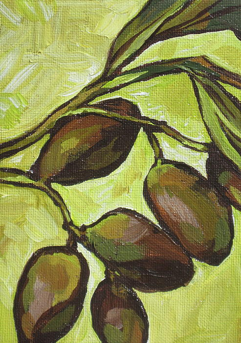 Food Painting - Figs by Sandy Tracey