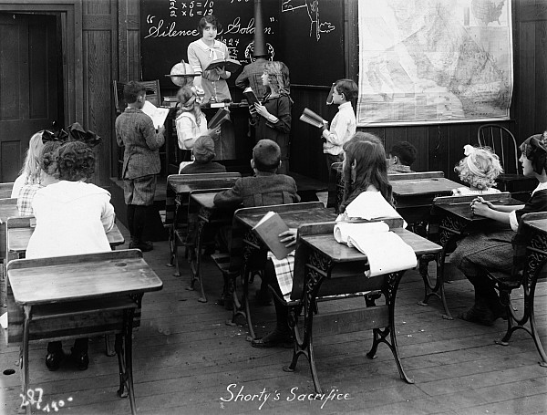 1914 Photograph - Film Still: Classroom by Granger