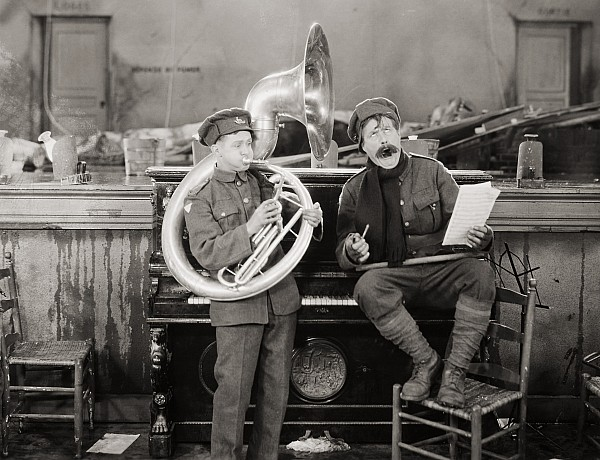 Music Photograph - Film: The Better Ole, 1926 by Granger