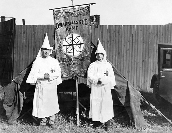 History Photograph - First Arrivals Of The Ku Klux Klan by Everett