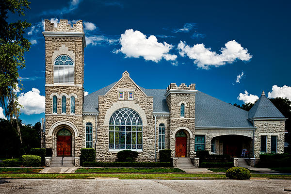 Church Photograph - First Presbyterian Church Of Eustis by Christopher Holmes