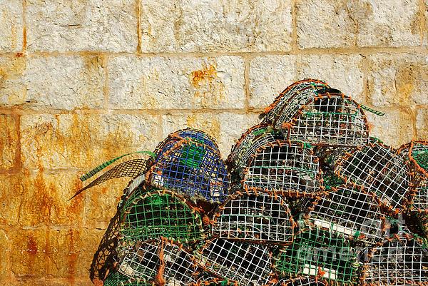 Bait Photograph - Fishing Traps by Carlos Caetano